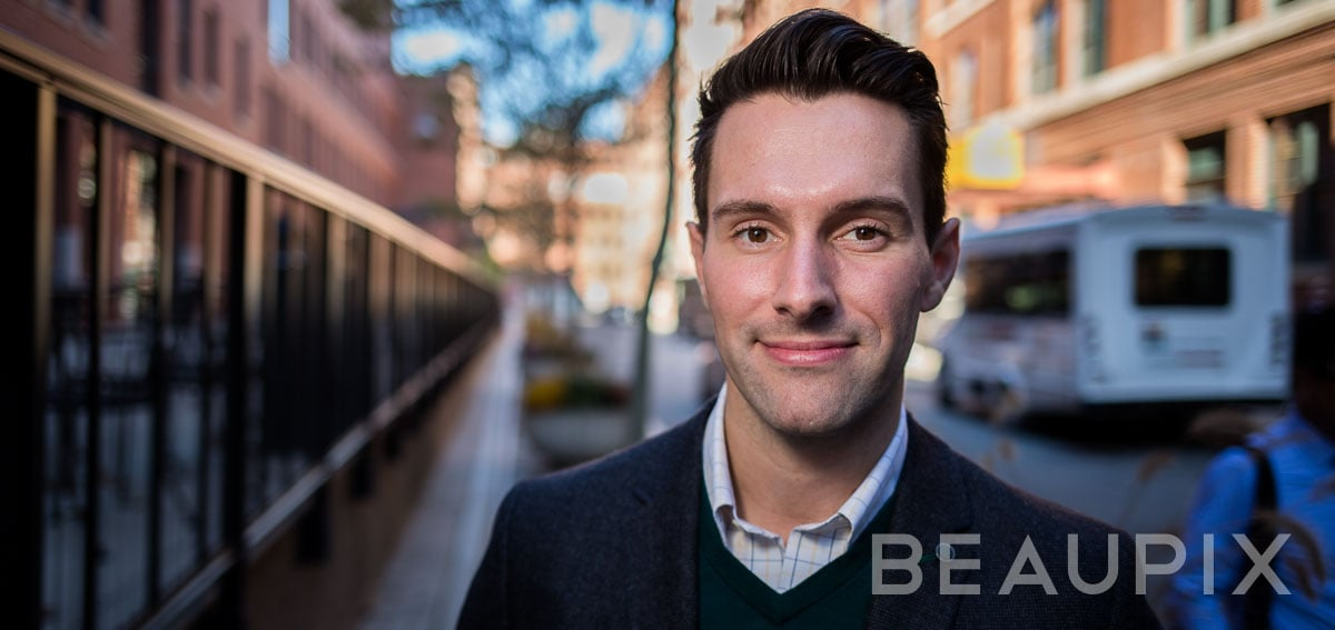 Boston photographer Ryuji by BEAUPIX Silvergrain for corporate executive portraits & personality headshots